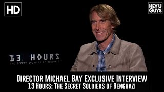 Michael Bay Exclusive Interview - 13 Hours: The Secret Soldiers Of Benghazi