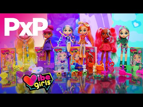 Vibe Girls are all about embracing your passion and positivity! | A Toy Insider Play by Play