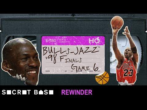 Jordan's iconic final shot as a Bull requires a deep rewind | 1998 NBA Finals Game 6