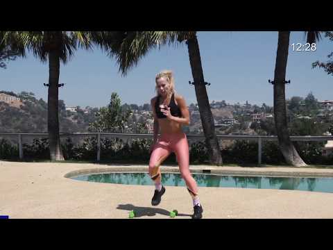 20 Min Cardio Workout with Weights // Burn 200 Calories