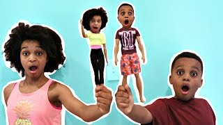 Shiloh and Shasha TURN INTO TOYS! - Onyx Kids