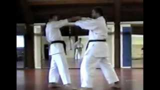 Juji-uke sequence (Pinan/Heian Godan)