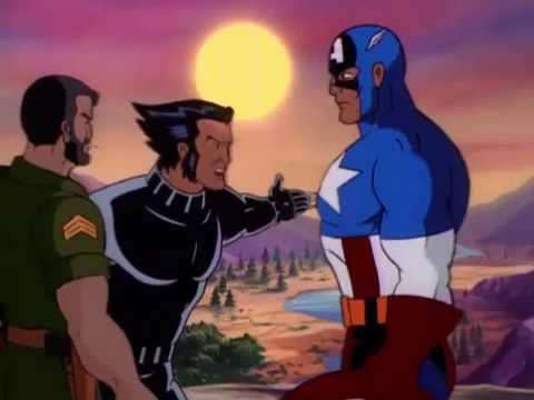 Wolverine and Captain America [Part3]