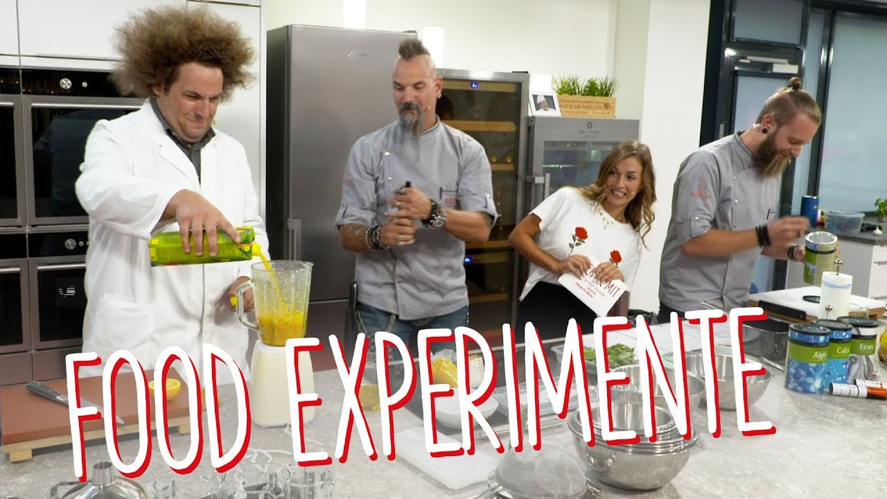 Food Experimente – heute explodiert die Küche\
