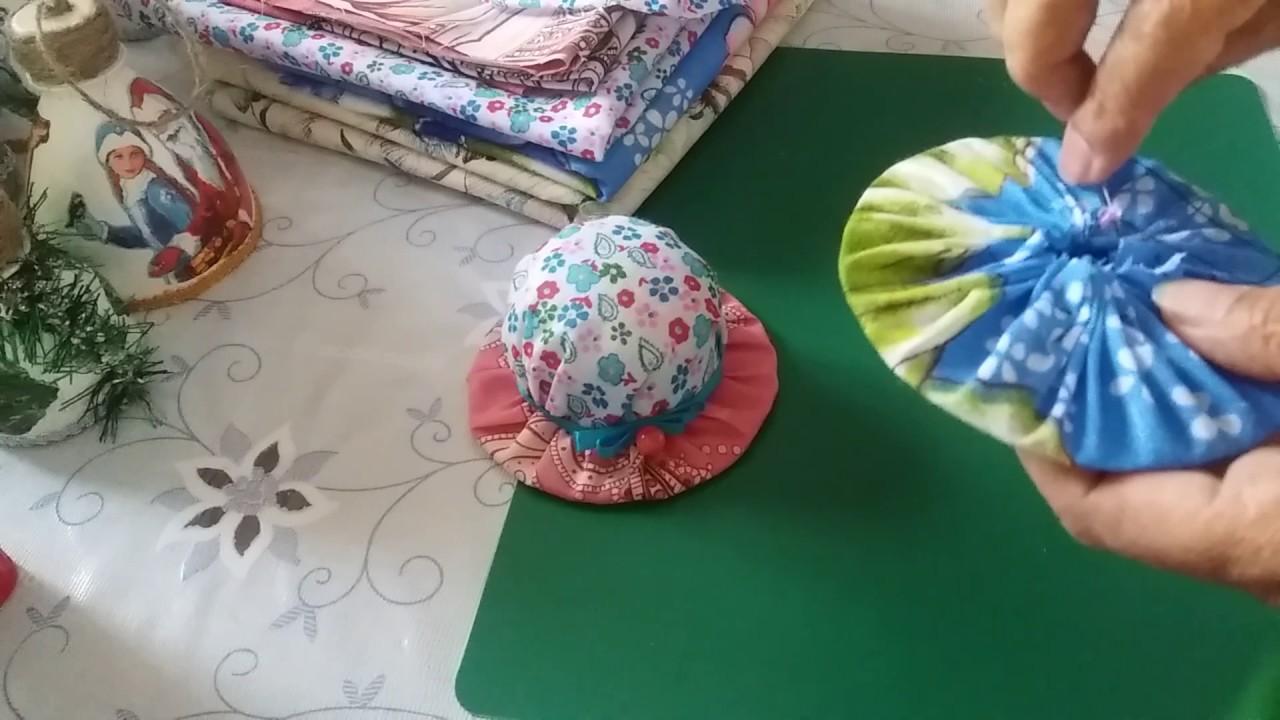 Как сшить игольницу шляпку на руку