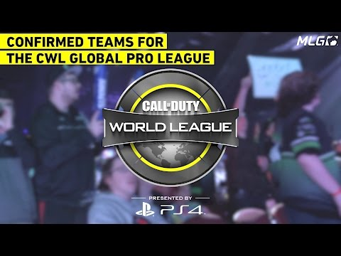 Confirmed Teams for the CWL Global Pro League