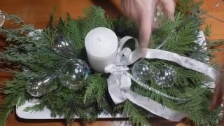 Weihnachtsidee in weiss