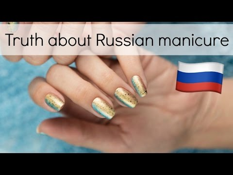 Truth about Russian (electric file) manicure | How dangerous is it?