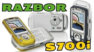 Разборка  Sony Ericsson S700i