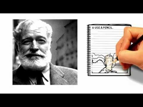 Be The Teacher: Hemingway Writing Tips