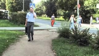 Москва 13,08,2013  выходим из метро Динамо