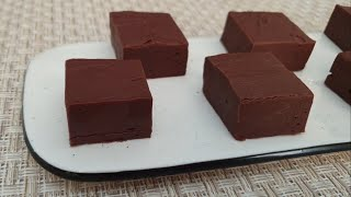 פאדג' שוקולד מ2 מרכיבים בלבד!
