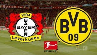 Bundesliga 2019/20 - bayer leverkusen vs borussia dortmund 08/02/20 fifa 20