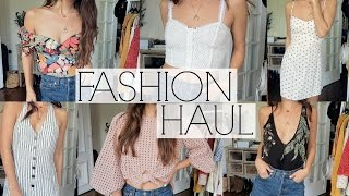 TRY-ON FASHION HAUL | Summer Style
