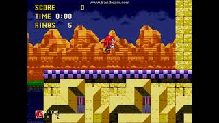 Sonic 3C 0408 - Ending leftovers & Knuckles possible prototype ending