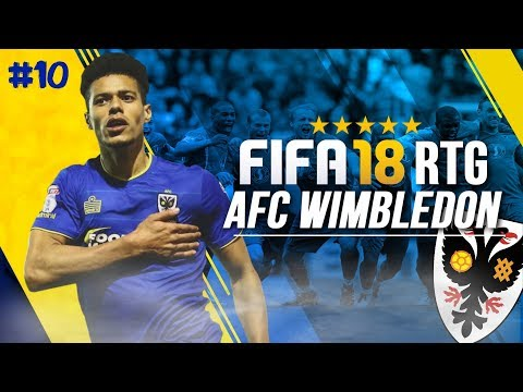 FIFA 18 | WIMBLEDON ROAD TO GLORY CAREER MODE!!! | TRANSFER WINDOW + PLAYING MAN CITY! [#10]