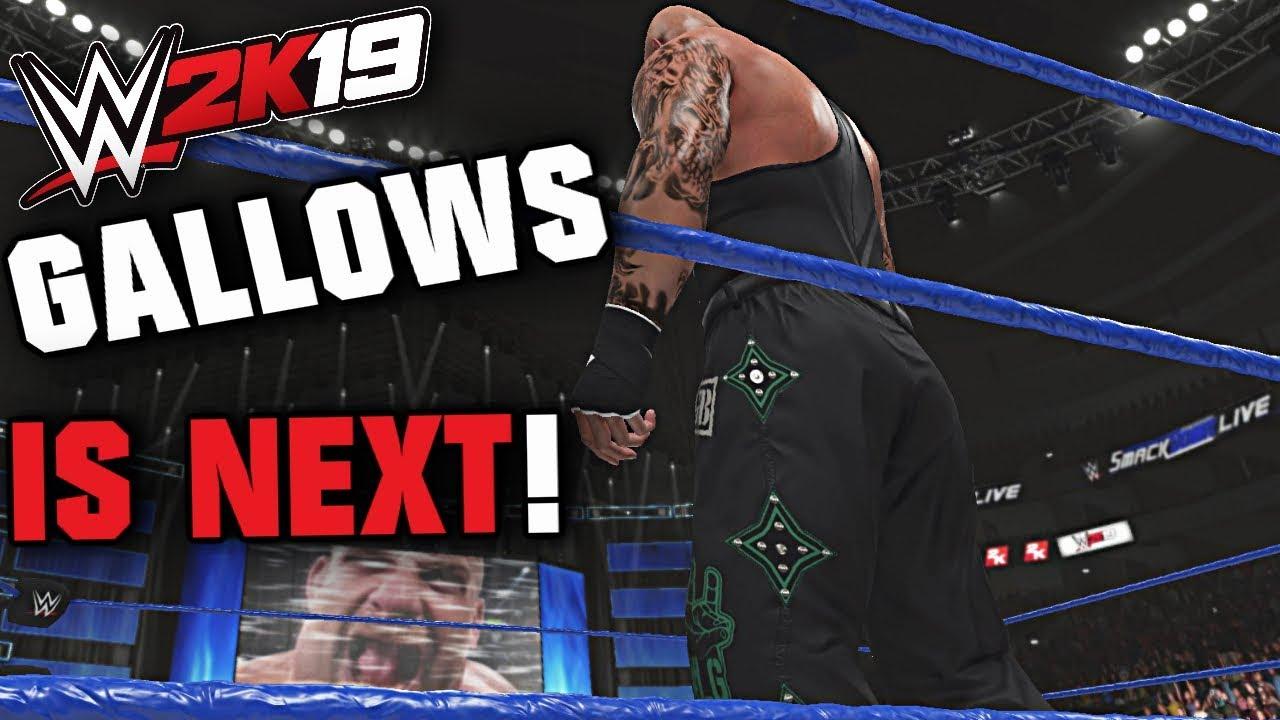Download Goldberg vs Luke Gallows   WWE 2K19 PC #OneMoreStreak