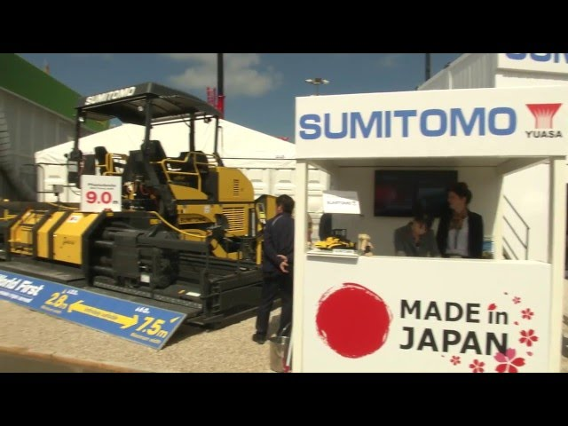 Sumitomo paves the way
