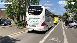 Busreiseveranstalter demonstrieren in Wiesbaden