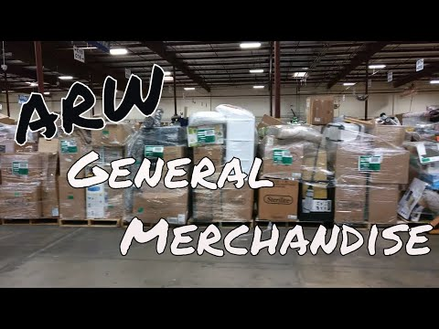 ARW Customer Return General Merchandise Loads (Part III)