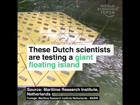 These Dutch scientists are testing a giant floating island