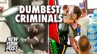 The Dumbest Criminals of 2018 | New York Post