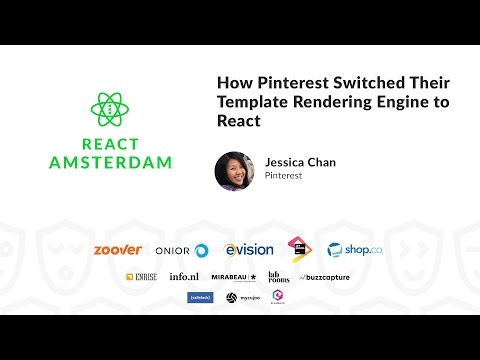 How Pinterest Switched Their Template Rendering Engine to React - Jessica Chan