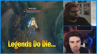 Legends *DOUBLELIFT* Never Die...LoL Daily Moments Ep 1134