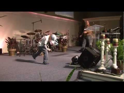 7 Year Old (X-Man), Rocks the Church to Josh Turner's Train song - Standing