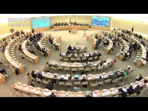 HRC33: Enhanced Interactive Dialogue on Burundi - John Fisher