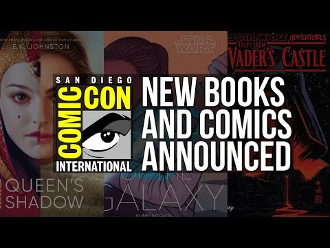 Star Wars Books and Comics Announced at San Diego Comic-Con 2018 - Star Wars News