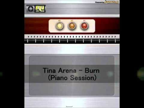 Tina Arena - Burn (Piano Session)