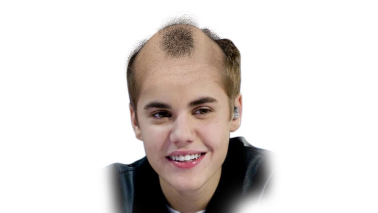 If Justin Bieber Was Bald Face Morph 1994 2017 Youtube
