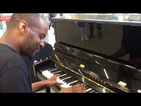 Trevor Yamba, Elton John Piano St Pancras Station