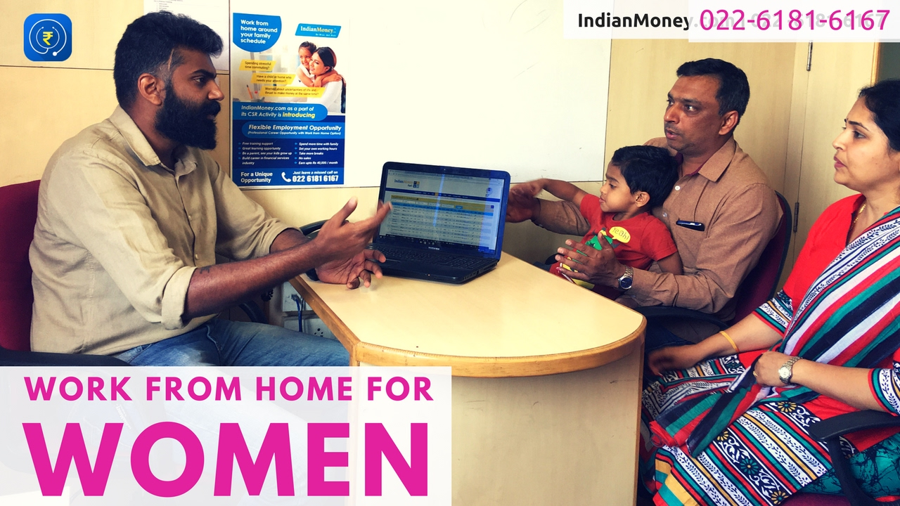 Work from Home for Women - Join us now | 022-6181-6167