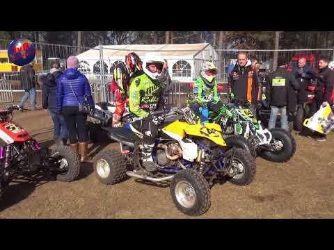 Motocross M.A.C Sport en Vriendschap in Lochem ONK en NK Zijspannen en Quads ( 4- 03-2018 )