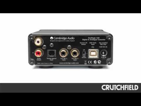 Cambridge Audio DacMagic 100 Digital-to-Audio Converter | Crutchfield Video