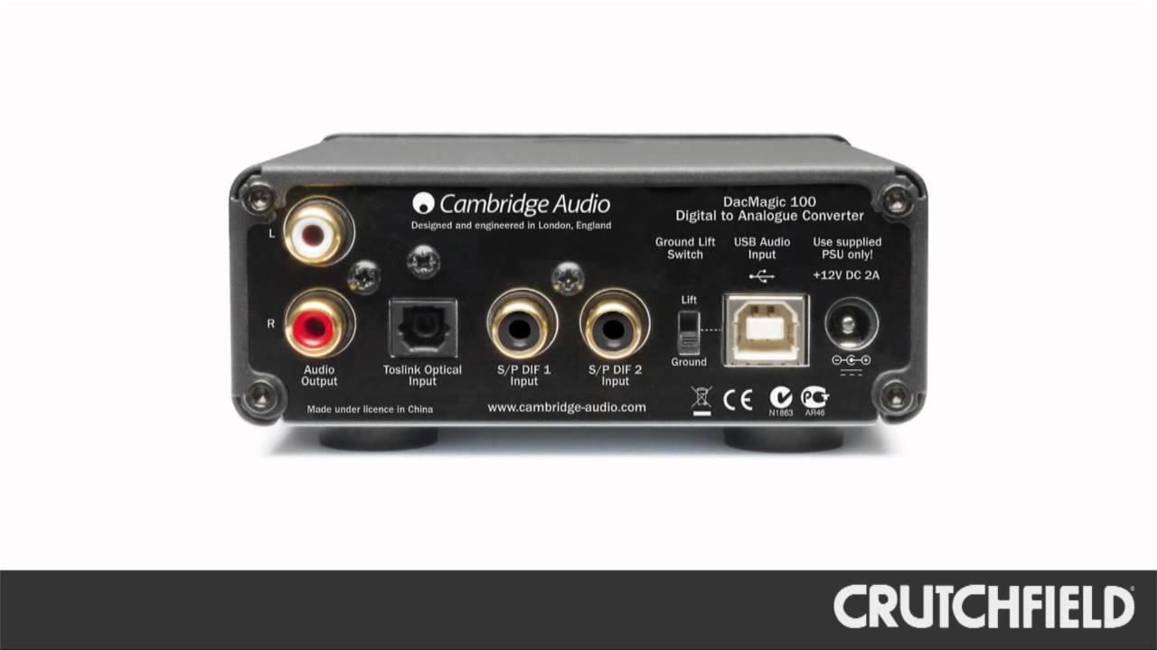 Cambridge Audio DacMagic 100 Digital-to-Audio Converter ... on audio cable, audio editing software, audio coding 3, audio files, audio playlist, audio maker,