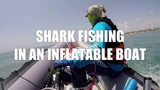 ZODIAC MK1 CLASSIC SHARK FISHING IN AN INFLATABLE BOAT
