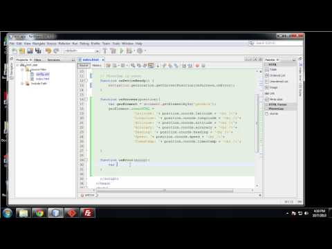 Learn to Build Mobile Apps from Scratch - Chapter 13 - Geolocation