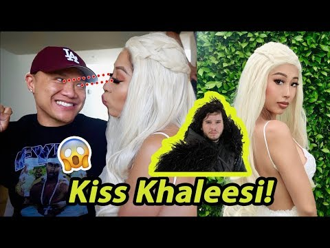 Kissing Khaleesi - Game of Thrones Dating Experiment - 동영상