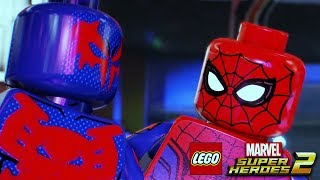 LEGO MARVEL SUPER HEROES 2 All Spider-Man Scenes