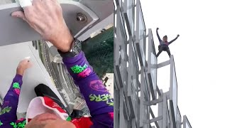 'French Spiderman' Free-Climbs 500-Foot Skyscraper