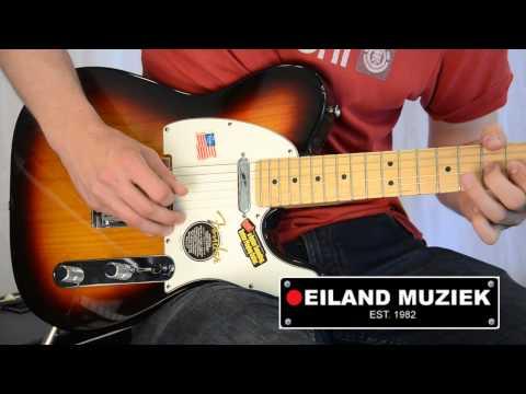 Fender American Standard Telecaster 3 Color Sunburst
