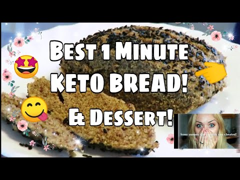 fast-keto-bread-😍-stupid-easy-version---ready-in-1-ish-minute!-doubles-as-dessert!-👌-🍰-delicious!
