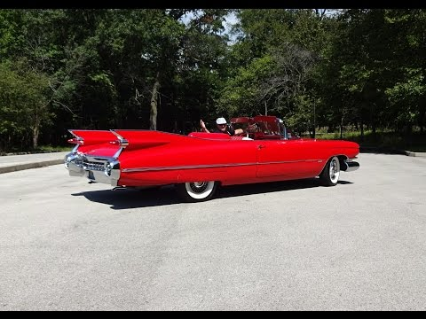 Ride in the Car with Largest Tailfins Ever a 1959 Cadillac? Why Not! My Car Story with Lou Costabile