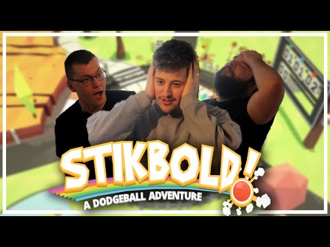 Dodge Ball but with VEHICLES? │Stikbold! A Dodgeball Adventure (Games Night)  