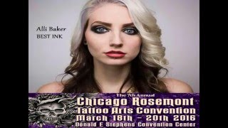 Alli Baker of BEST INK coming to Chicago Tattoo Arts Convention