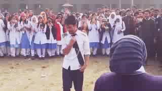 Lallah ma lallah dance boy in girls college Punjab .pakistan