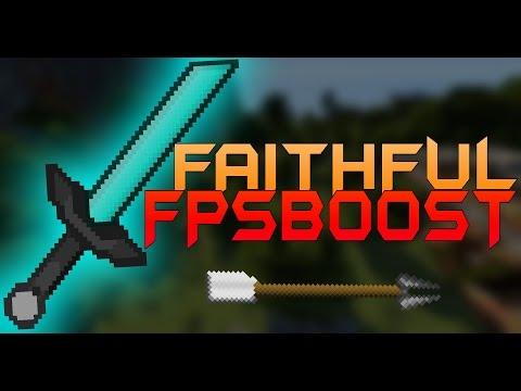 MINECRAFT PvP TEXTURE PACK NOLAG/FPS BOOST FAITHFUL 1.7.X 1.8.X 1.9.X